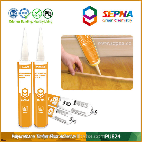 rapid cure multi use strong no crack woodflooring sealant concrete flooring pu sealant