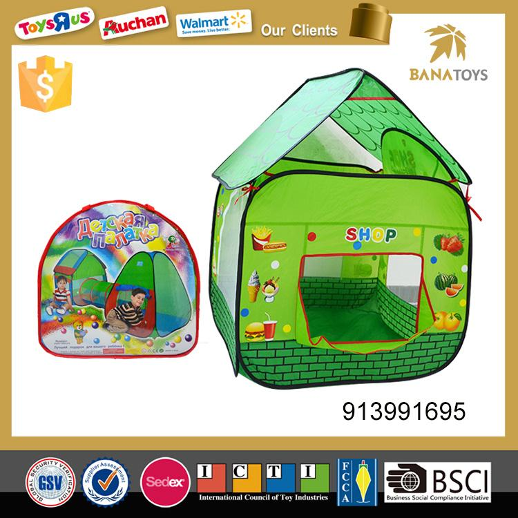 Funny camping toys kids play tent house