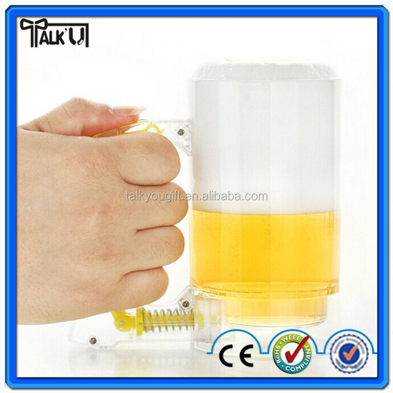 Creativity will play bubbles beer mug/Bubbles Beer Cup