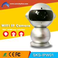 Mini Robot 960P HD WiFi Wireless IP Surveillance Security Camera with wireless wifi ip camera