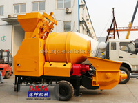 Low Diesel Consumption Self Loading Mixer Mini Concrete Mixing Machine