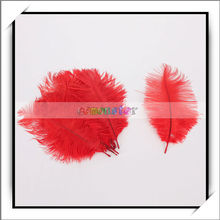 Best Price !! Artificial Bulk Ostrich Feathers For Decoration China Red -13010433