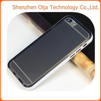 For iphone 6 clear cover case,for iphone 6 tpu+pc case
