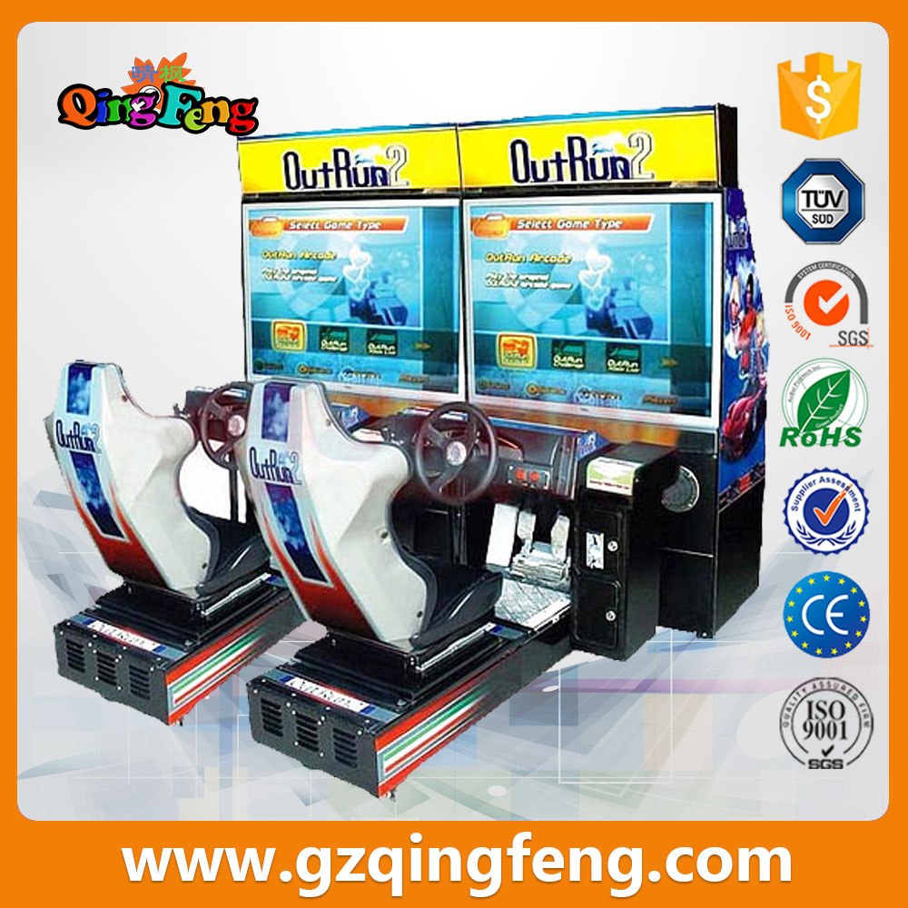 Amusement coin operated driving game machine --Outrun (MR-QF210-8)