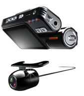 HD Dual Lens Car Camera With Cmos 360 degree Car Camera