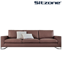 S91 Sitzone New Wooden Frame I Shape Living Room Sofa