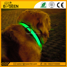 new product 2016 Dog Accessories Soft led dog collar leashes