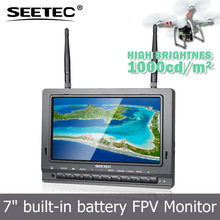 7 inch fpv display antiglare matte screen video input sunlight readable high brightness digital baby monitor