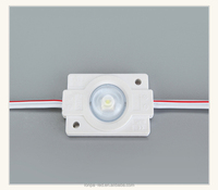 Hot sale injection waterproof 160 degree 1 led 2835 led module with lens
