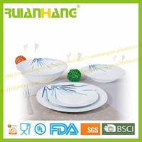 wholesale hotel restaurant wedding home custom bone china crockery dinnerware set