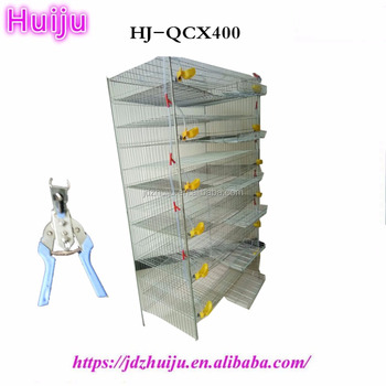 Low price high quality design commercial layer quail cages for sale