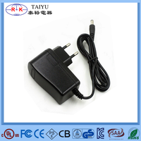 12 volt 1 amp wall mount switching adapter for led copper lights