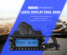 2017 new launch TRANSCEIVER ZASTONE ZT-D9000 50w 2- Way Radio Ce Fcc Iso Approval Amateur Walkie Talkie