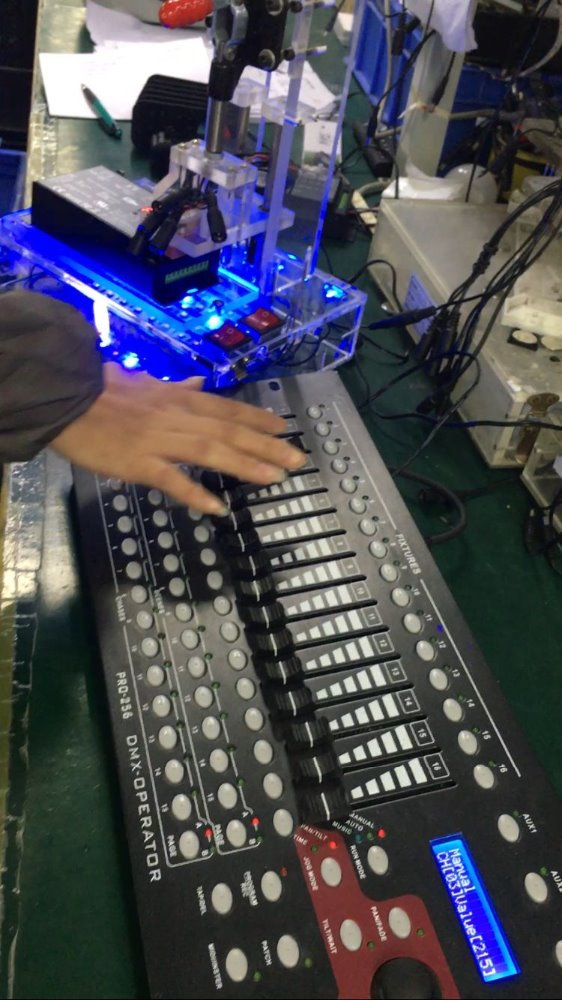 dmx decoder/dmx console for audio,sound,video