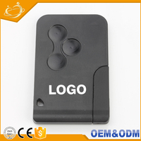 Universal blade 433Mhz ID46 Chip smart remote control car key for renault megane