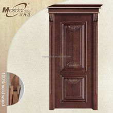 Cheap bedroom wooden decorative pattern interior door