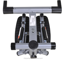 Multifunction stepper mini stepper with handle bars waist exercise