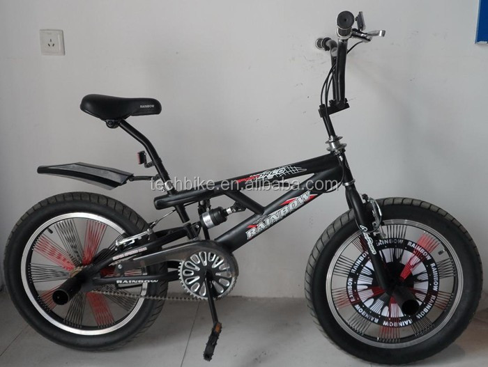 20 INCH BIKE FREESTYLE NEW DESIGN FULL SUSPENSION BMX BIKE FREESTYLE