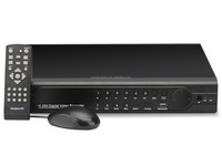 24 Channel H.264 DVR/NVR Security System - H.264 Compression, 2 SATA HDD Ports, CIF + HDMI, 4 Audio Channels, 2 USB