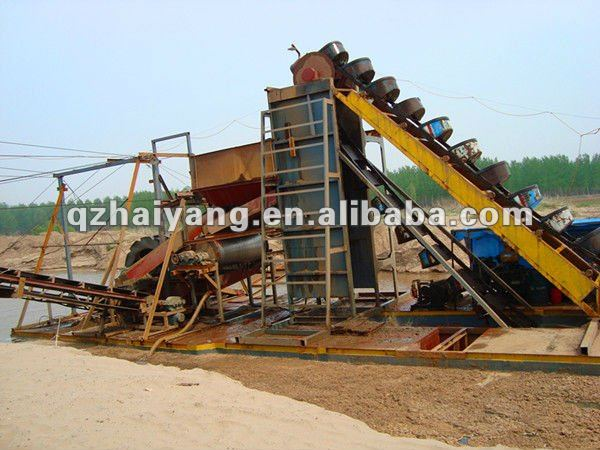 gold suction dredge boat for sale