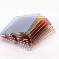 Clear PC Jelly Hard Skin Crystal Case Back Cover For New Apple iPad Mini 2 Retina