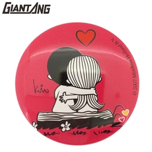 Tin Custom Design Logo Wholesale Photo Blank Sublimation Pin Badge For Clothing