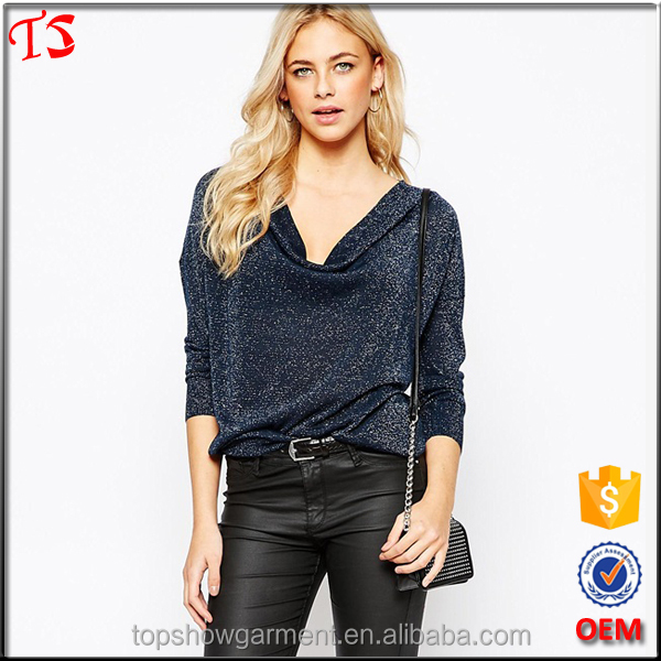 OEM top selling products 2015 korean clothes ladies fancy tops