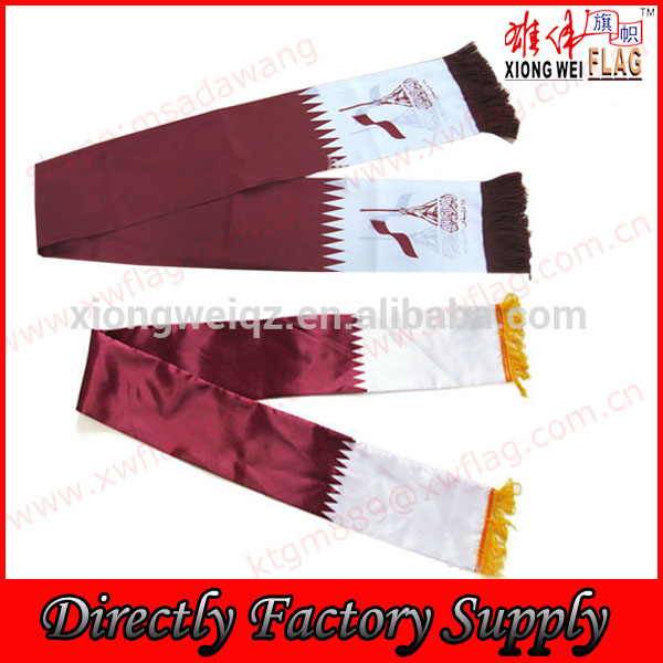 Katar National Day promotion Qatar scarf