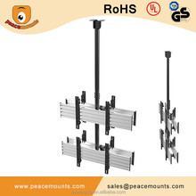 2X2 Micro Adjustable Multi-Screen TV Ceiling Mount