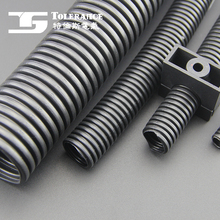 Black pe corrugated plastic pipe