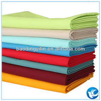 100% cotton combed yarn t-shirts fabric 40x40 133x72