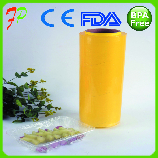 PVC Cling Film PVC Food Wrap Film With Best Price BPA FREE Top Quality