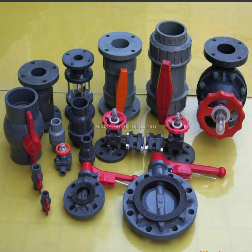 nsf plastic pvc valve for chemical industry