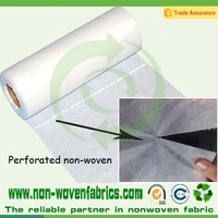 perforated TNT nonwoven fabric,pp nonwoven,perforated non woven fabric