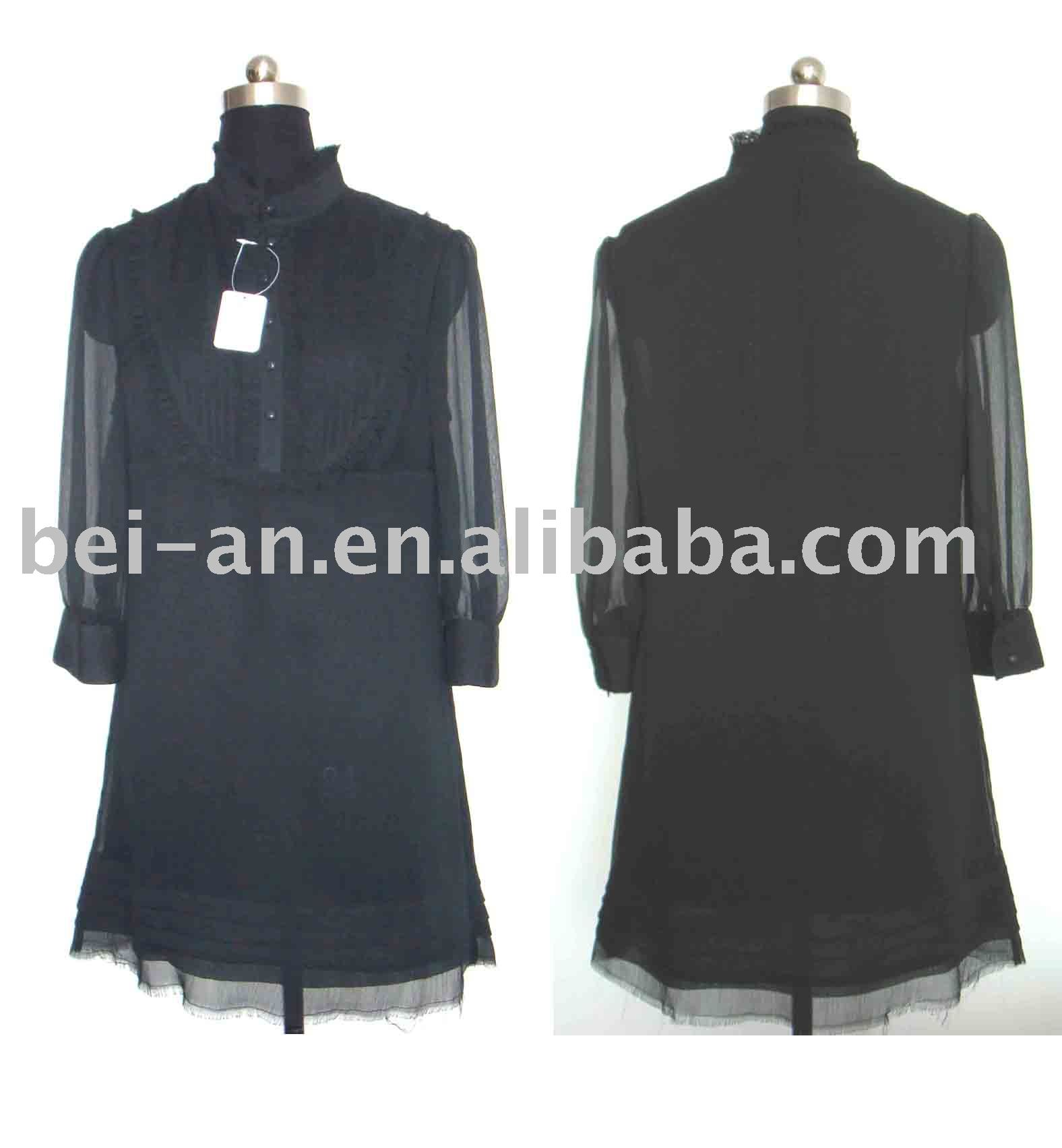 fashion women neck design of blouse