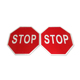 Aluminum Stop Sign Custom Road Safety Outdoor Advertising Signs