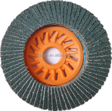 America style 5/8-11 flap disc with plastic backing polishing metal,stone,marble,stainless steel