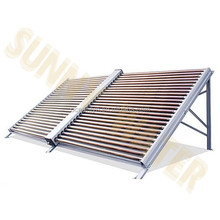 Vacuum tube solar water heater collectors