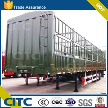 CITC fence stake animal transport semi trailer with high quality side panel of livestock trailer