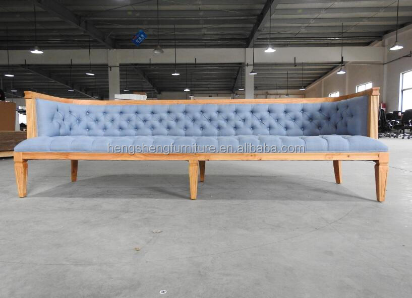 American Style Antique American sofa chesterfield sofa <strong>furniture</strong> three seaters SF-048