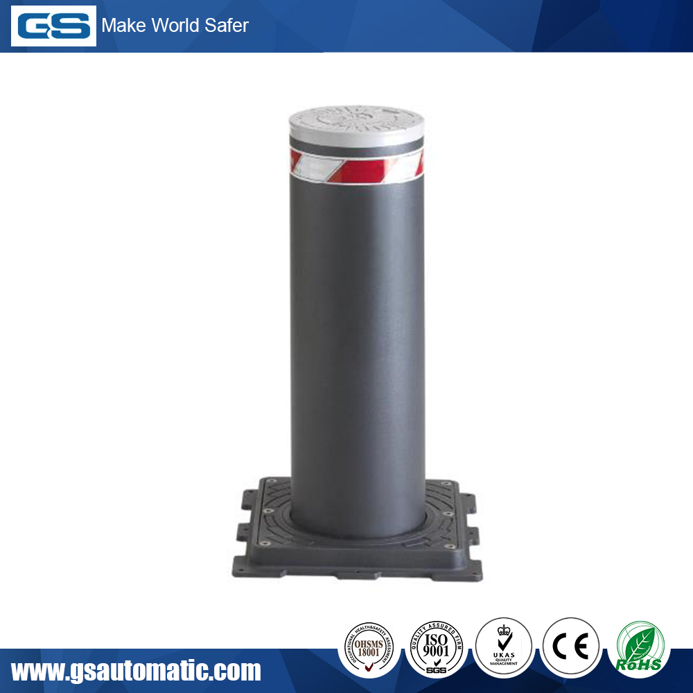 Best Price Automatic Parking Bollard with LED lighting