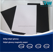 Good Quality inkjet photo paper magnatic paper glossy A4 size