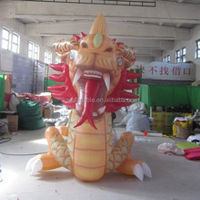 advertising Inflatable dragon red cartoon/animal/model giant dragon