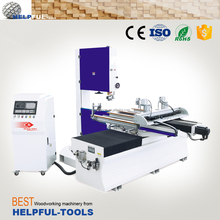 Helpful Brand Shandong Weihai sliding table band saw HKS1212A/HKS1225A ,timber sawing machine,Band Saw Machine Price,