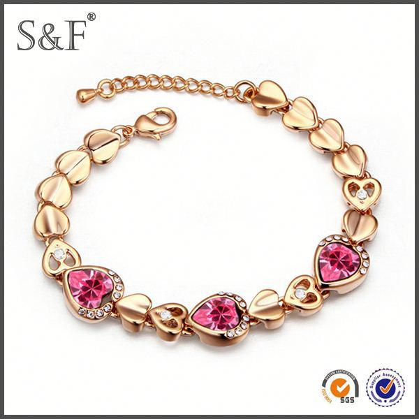 Crystal Fashion Luxury silicone powerful bracelet balance