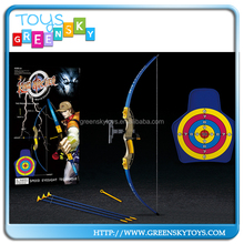 Safety Design Kids Play Bow And Arrow With Soft Target