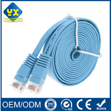 FTP Flat Cat6 Cat6e Ethernet Lan Network Cable RJ45 to RJ45 Male Patch Cord Cable