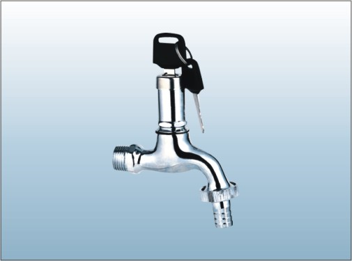 Hot sale best quality lock basin faucet water tap with keys