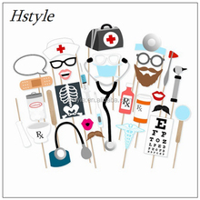 Custom Design DIY Christmas Party Photo Booth Props -Hospital Doctor Theme PFB0367