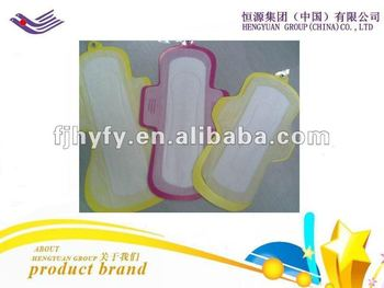Lady sanitary napkin with super absorbent
